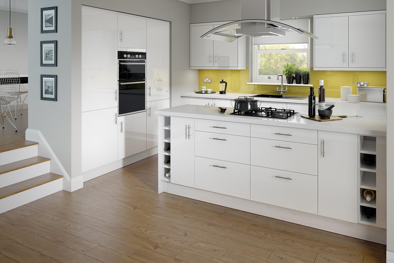 Paris White - Elegant and Light Kitchen Units