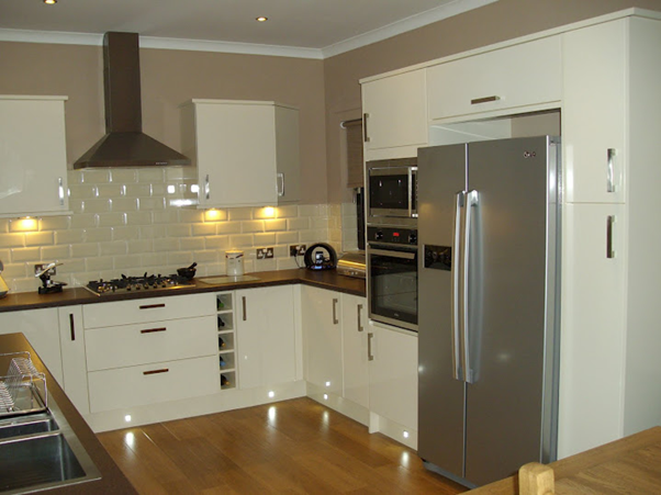 Narrow Fridges Small Kitchens Uk
